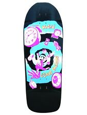 Madrid Claus Grabke 40TH ANNIVERSARY TIME WARP Skateboard Deck BLACK