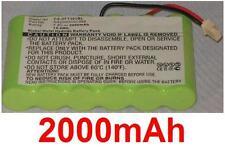 Batterie 2000mAh type NA200D05C095 Pour VeriFone Nurit 3010