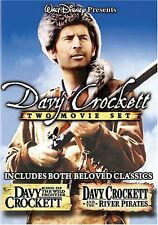 Davy Crockett: King Of The Wild Frontier/River Pirates (DVD Used Very Good)