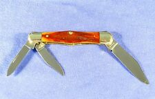 Vintage Case XX Red Stag Whittler Knife 6383 1940-64 Very Nice #716