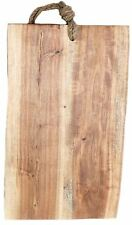 Acacia Wood Cheese Bread Chopping Board With Rope 29cm x 54cm