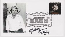 SIGNED MICKEY GILLEY FDC AUTOGRAPHED FIRST DAY COVER URBAN COWBOY