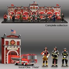 Firefighter Pride Figurine - Firefighter Tribute Collection Bradford Exchange