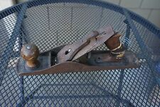 VINTAGE Stanley Jack Plane No 5 MADE IN USA Bailey Type 16? Patina Antique Rust
