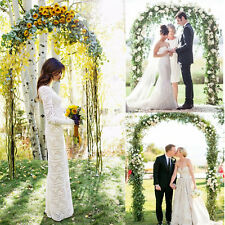 7.9 Ft Metal Wedding Arch For Party Prom Beach Garden Ceremony Floral Decoration