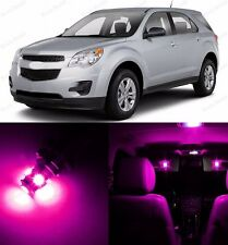 9 x Ultra Pink LED Interior Lights Package For 2011-2013 Chevrolet Chevy Equinox