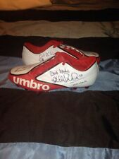 Kyle Walker hand signed Umbro football boots