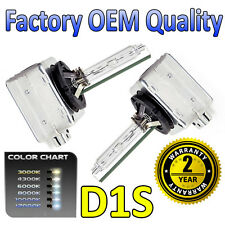 2 x 12k D1S HID Xenon OEM Replacement Headlight Bulbs 66144 - 2 Year Warranty