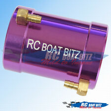 RC Boat Traxxas Spartan 36mm upgrade motor cooling jacket Purple