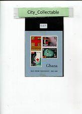 1963 GHANA M/S MINT- RED CROSS CENTENARY  # S087