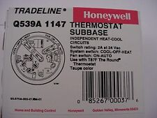 Honeywell Q539A 1147 Thermostat Subbase Use with T87F Ships on the Same Day