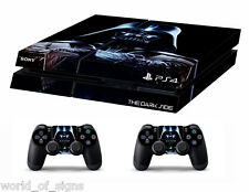 PS4 vinyl Skin Stickers darth vader/star wars style for Console & 2 controllers