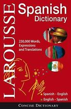 Larousse Concise Dictionary: Spanish-English / English-Spanish Larousse Paperba