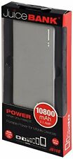 Juice Bank JB108 10,800mAh 2.1AMP Portable Phone & Tablet Charger with Torch