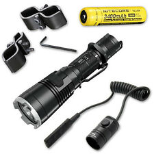 Nitecore MH27 Flashlight w/ GM03 Mount, RSW1 Pressure Switch, & NL189 Battery