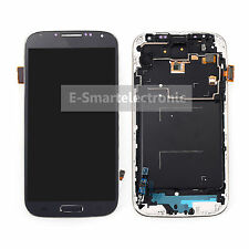 For Samsung Galaxy S4 I9505 LCD Display Touch Screen Glass Digitizer &frame Blue