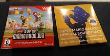 New Super Mario Bros. Wii amd Galaxy official soundtrack