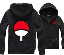 NARUTO Uchiha Sasuke Sharingan cosplay costume mens Casual hoodies sweatshirts