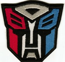 Transformers Autobot Embroided Patch - Sew-on / Iron-on Patch