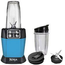 Ninja Auto-iQ Nutri Ninja 1000W Blender, Turquoise BL483 (Certified Refurbished)