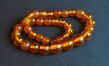 Vintage  Baltic Necklace  Butterscotch Amber Jewelry Beads  18 gr