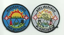 SCOUT CANADA NEW BRUNSWICK WABANAKI AREA DISTRICT PATCH CANADIAN BADGE EMBLEM !!