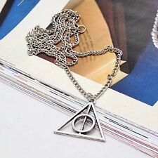 2016 New Harry Potter DEATHLY HALLOWS NECKLACE Wizarding World Gift COSPLAY