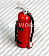 RC 1/10  Scale Truck  Accessories METAL FIRE  EXTINGUISHER W/ Holder + Hardware