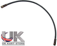 Black Braided Brake Pipe 60cm to Suit our Italian Caliper & Master Cylinder