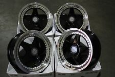 "17"" BLACK DR-F5 ALLOY WHEELS FITS BMW MINI R50 R52 R55 R56 R57 R58 R59"