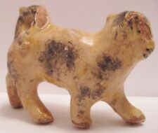 Old German Composition House Cat for Dollhouse or Doll or Christmas Village Putz