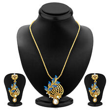Sukkhi Stunning Gold Plated Pendant Set For Women 4173PSGLDPP850