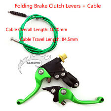 Green Brake Clutch Lever Cable For SDG SSR Coolster CRF 50 70 KLX110 YX Pit Bike