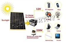 20W 2*10W Epoxy Solar Panel High Efficiency Power 12V Battery Charge Travelling