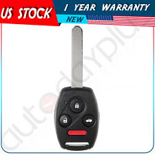 New Replacement Uncut For 2004 - 2007 Honda Accord Remote Keyless Entry Key Fob