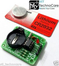 RTC Module DS1307 Real Time Clock I2C Arduino,Rasp,AVR,ARM,8051,PIC+FREE Battery