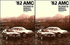 1982 AMC Shop Manual Spirit Eagle Concord 2 Vol Set Repair Service base for 1983