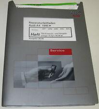Werkstatthandbuch Audi A4 Typ B5 4 Zylinder TDI Vorglühanlage Einspritzanlage