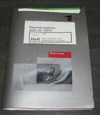 Werkstatthandbuch Audi A4 B5 Simos Einspritzanlage Zündanlage 4 Zylinder 07/1999