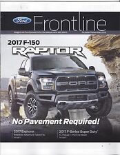 Original/Official Ford Frontline Magazine Oct/Nov 2016 2017 F-150 Raptor News