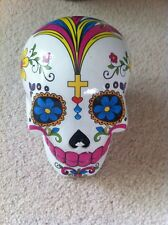 Mexican Sugar Skull Novelty Money Box