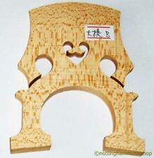NEW 3/4 SIZE MAPLE BRIDGE FOR CELLO WOOD 4 STRING TOP QUALITY FROM JANIKA