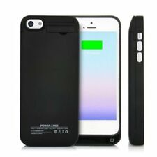 New Black 2200mah Power Bank Charger Case for Apple Iphone 5 5c 5s SE iOS10