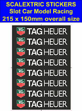 Scalextric Slot car stickers Model Race TAG Heuer Logo Lego decal adhesive vinyl