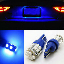 New 2x Ultra Blue 24-smd Bulbs For License Plate Light T10 168 194 2825 LED B-fO