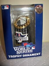 "Boston Red Sox 2013 World Series Champions Trophy 3"" Christmas Ornament Forever"
