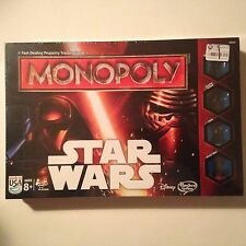 Star Wars Monopoly - NEW, SEALED