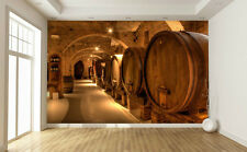 Wine Cellar in Tuscany 12' x 8' (3,66m x 2,44m)-Wall Mural