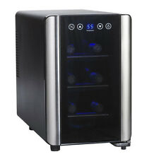 Wine Enthusiast Silent 6 Bottle Touchscreen Wine Refrigerator 2720307 New