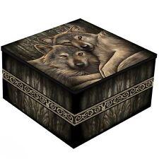 Lisa Parker Loyal Companions Wolf Mirror Trinket Jewellery Box Gothic Decor Gift